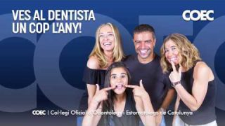 Ves al dentista un cop l'any!